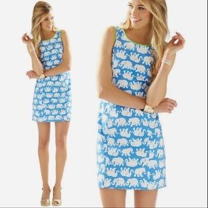 Lilly Pulitzer Cathy Shift Dress 🐘 Tusk In Sun 00